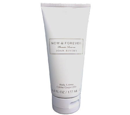 Joan Rivers Now & Forever Body Creme