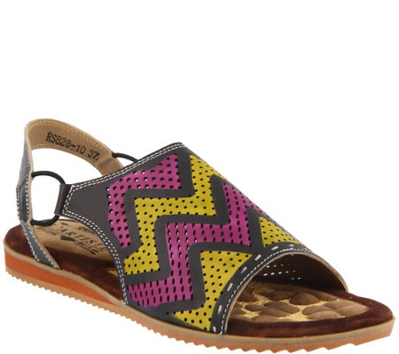 L'Artiste by Spring Step Leather Sandals - Lailah