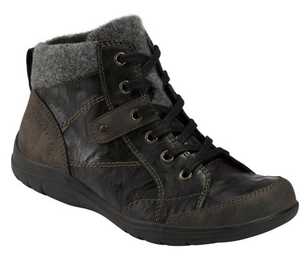 Earth Origins Lace Front Booties - Ricky