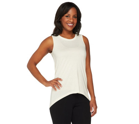 G.I.L.I. High-Low Hem Sleeveless Top