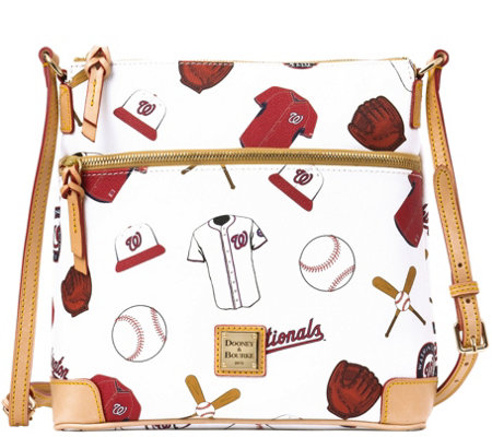 Dooney & Bourke MLB Nationals Crossbody