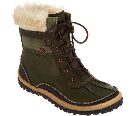 Merrell Waterproof Leather Boots - Tremblant Mid Polar Lace