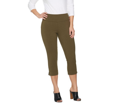 """As Is"" Wicked by Women with Control Petite Pull-on Capri Pants"