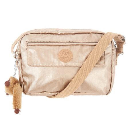 Kipling Small Crossbody Bag - Rosa