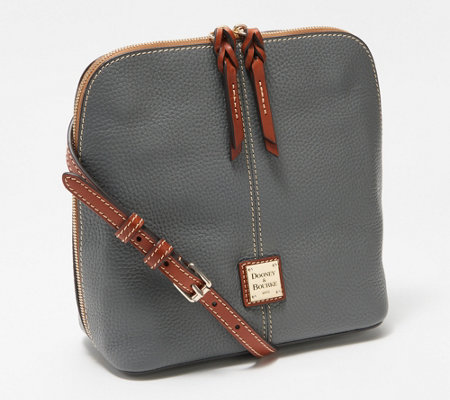 a633bce71 Dooney & Bourke Pebble Leather Large Crossbody - Trixie - Page 1 ...