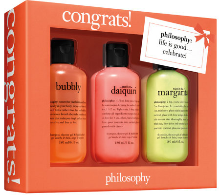 philosophy congrats gift box