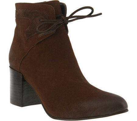 Azura by Spring Step Leather Booties - Apolonia