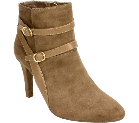 Rialto Pointed-toe Booties - Caleigh
