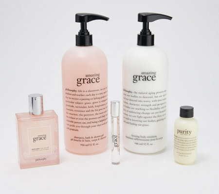 philosophy grace & love holiday 4-piece fragrance layering kit