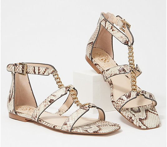 Vince Camuto Gladiator Sandals with Hardware - Sereny