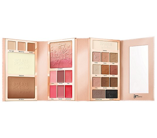 IT Cosmetics Special Edition IT Girl Holiday Beauty Book w/ Gift Box & Bow