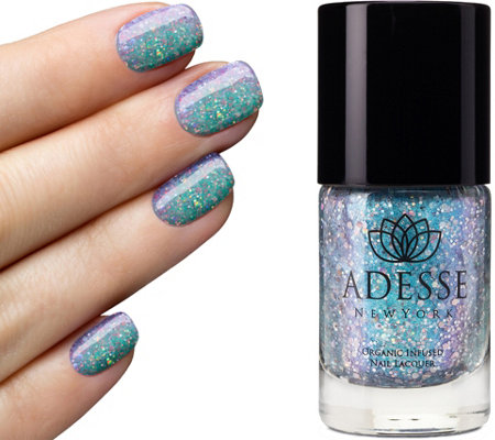 Adesse New York Organic Infused Glitter Nail Lacquer