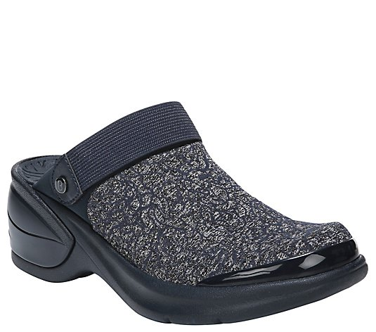 BZees Slip-On Mule Clogs - Kitty