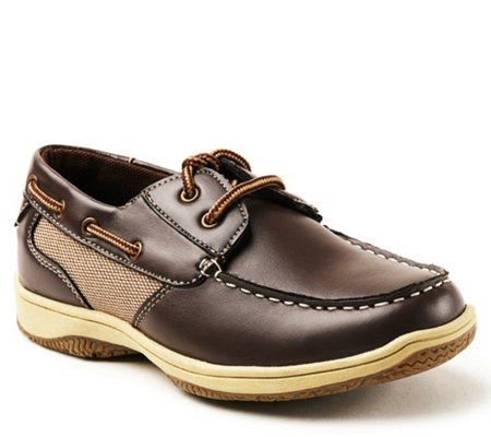 Deer Stags Kid S Lace Up Boat Shoes Jay