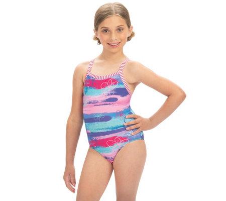 Dolfin Girls Uglies One Piece Swimsuit