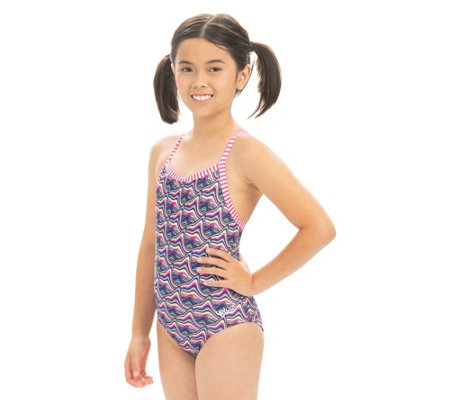 Uglies Girls Candy Mountain Print One-Piece