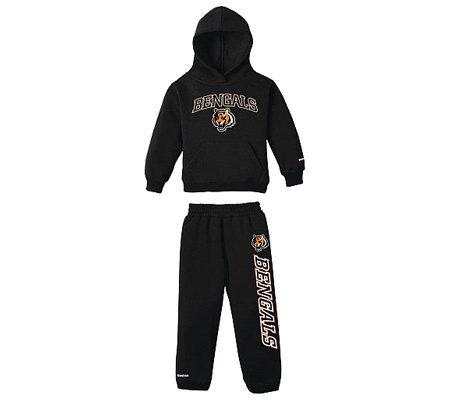 NFL Cincinnati Bengals Toddler Hooded Fleece and Pant Set — QVC.com 98a3ce1cbddc