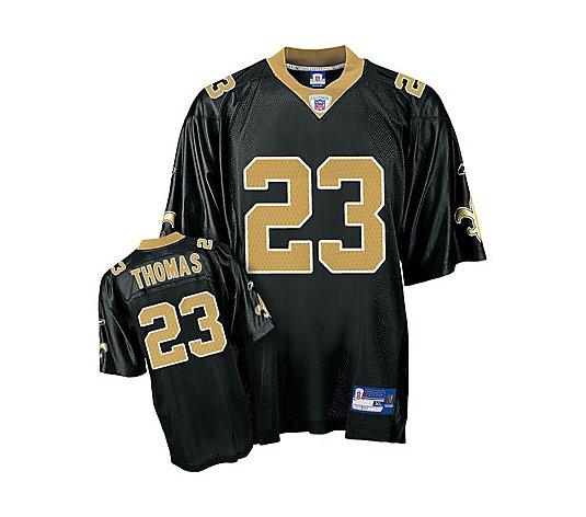 NFL New Orleans Saints Pierre Thomas Replica Team Color Jersey ...