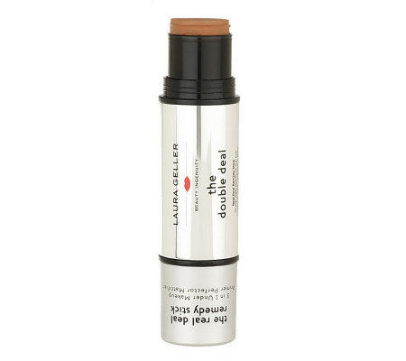 Laura Geller Double Deal Real Deal Foundation & Remedy Stick