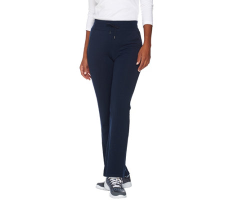 cee bee CHERYL BURKE Regular French Terry Pants w/ Drawstring