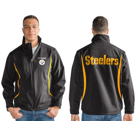 NFL Soft Shell Bonded Jacket with Fleece Interior