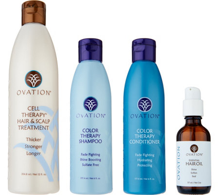 Ovation Hair's 4 Piece Repair & Replenish Kit