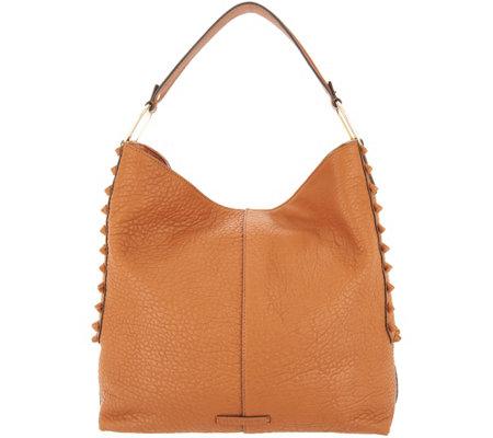 Vince Camuto Leather Hobo Handbag Axmin