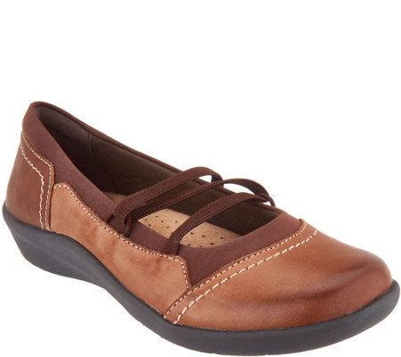 Earth Origins Leather Slip-On Flats - Leslie
