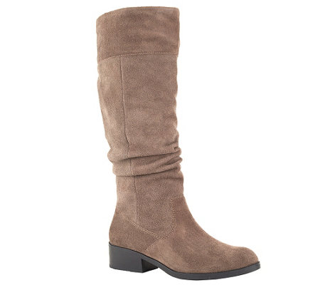 Cougar Waterproof Tall Suede Pull-On Boots - Carla