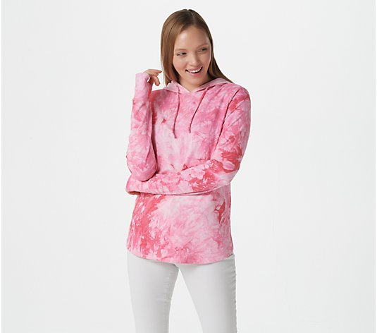Belle by Kim Gravel TripleLuxe Hoodie with Thumb Holes