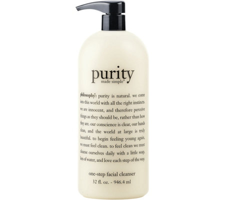 philosophy super-size 32 oz purity made simple cleanser