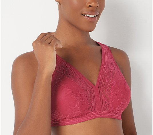 Breezies Smoothing Control Lace Wirefree Bra