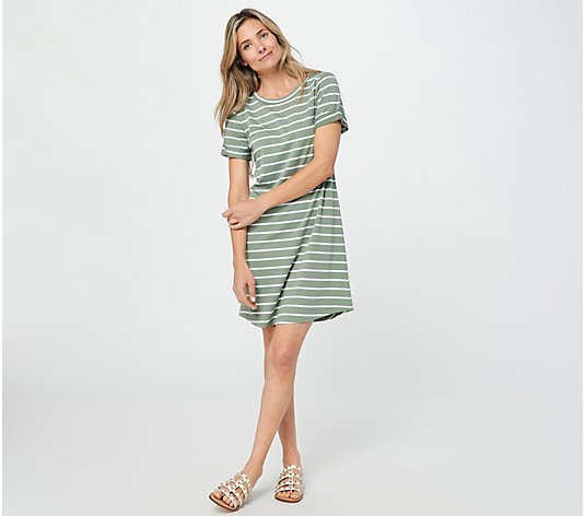 Candace Cameron Bure Regular French Terry T-Shirt Dress