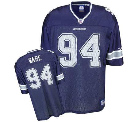 NFL Dallas Cowboys DeMarcus Ware Replica Team Clor Jersey — QVC.com 517c3a39b