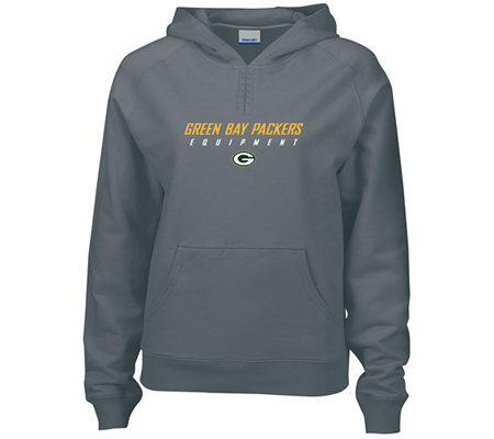 NFL Green Bay Packers Women s Equipment Hoodie — QVC.com 7369c2212