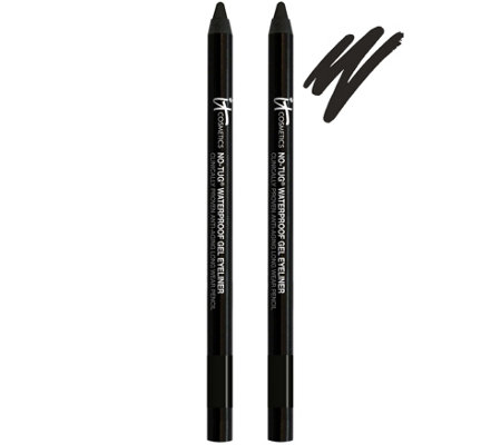 IT Cosmetics No-Tug Waterproof Gel Eyeliner Duo Auto-Delivery