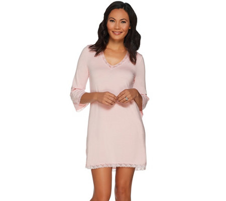 Barefoot Dreams Luxe Milk Jersey Nightshirt