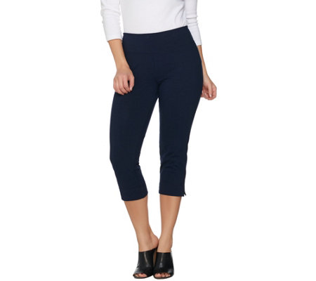 """As Is"" Wicked by Women with Ctonrol Regular Pull-on Capri Pants"