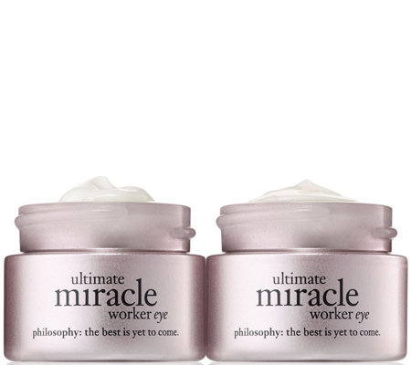 philosophy ultimate miracle worker eye cream duo Auto-Delivery