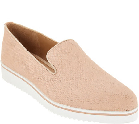 Franco Sarto Leather Slip-On Shoes - Fabrina