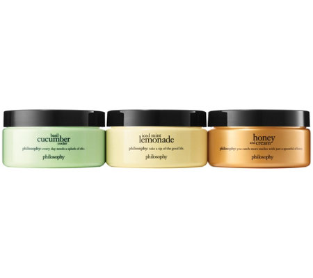 philosophy soak up summer souffle trio
