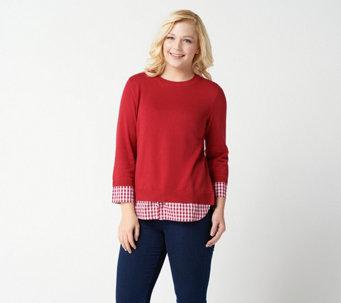 677f12556b Joan Rivers Classics Collection — Sweaters   Cardigans — QVC.com