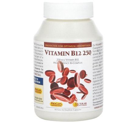 Andrew Lessman Vitamin B12 250 60 Capsules