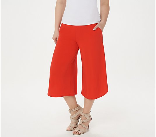 G.I.L.I. Jetsetter Wide-Leg Crop Pants