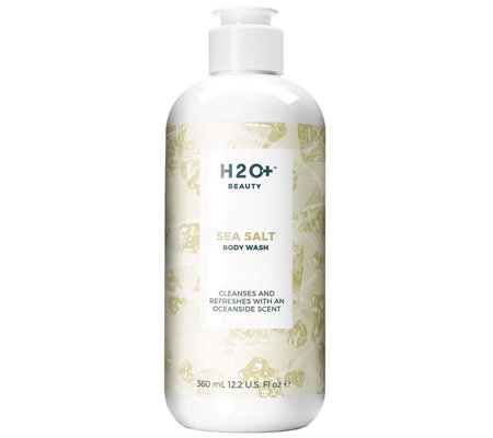 H2O+ Beauty Sea Salt Body Wash, 12.2 oz