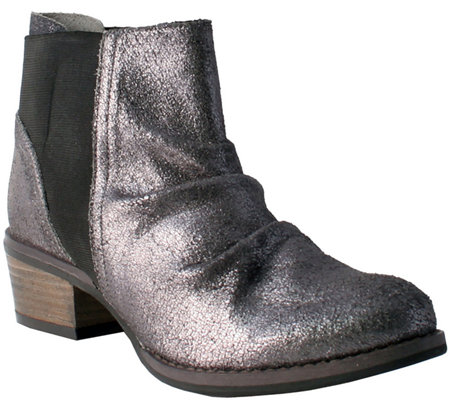 Nomad Leather Ankle Boots - Joy