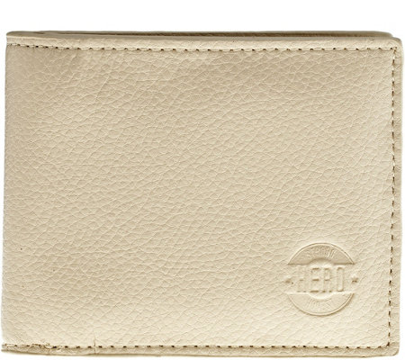 Hero Goods Garfield Wallet, Cream