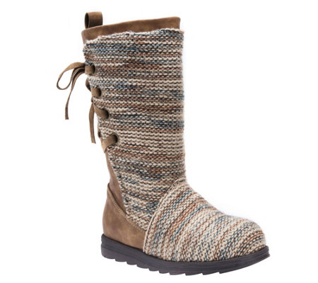 Muk Luks Mid Calf Boots Lucinda