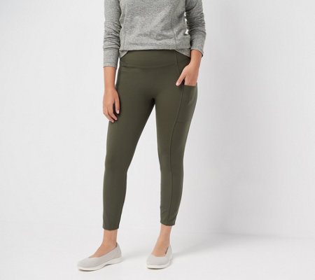"""As Is"" zuda Petite Z-Stretch Momentum Leggings"