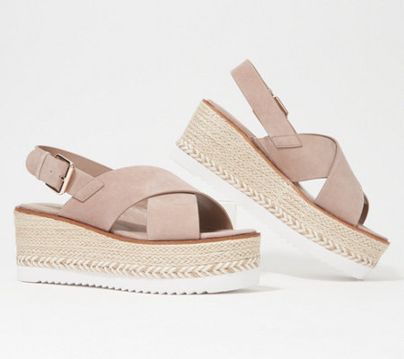 Vince Camuto Leather Espadrille Sandals - Marietten
